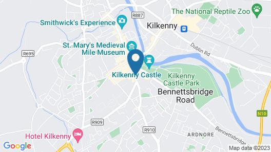 Zuni Hotel Kilkenny Map