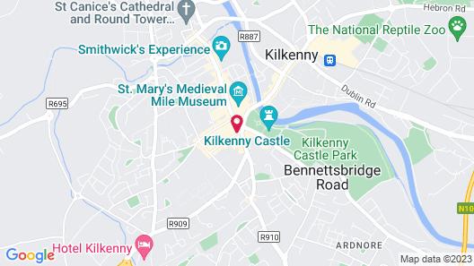 Kilkenny Hibernian Hotel Map