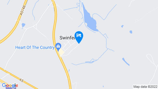 Swinfen Hall Map