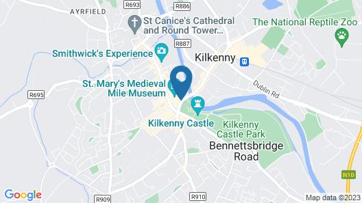 Lanigan's Hostel Map