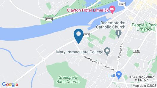 Courtbrack Accommodation - Hostel Map