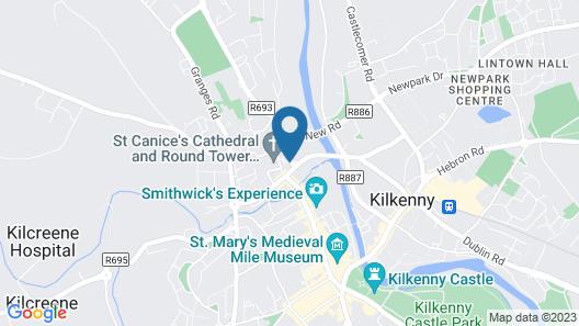 MacGabhainn's Backpacker Hostel Map