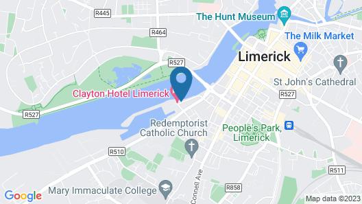 Clayton Hotel Limerick Map