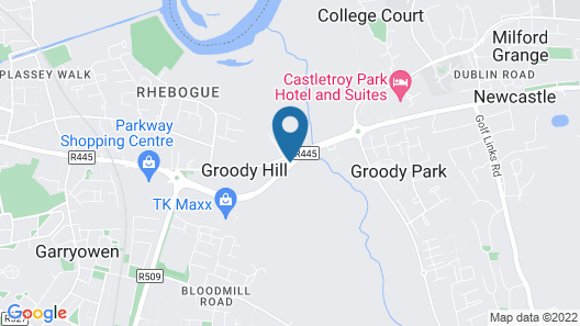 Travelodge Limerick Castletroy Map