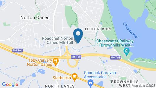 Days Inn by Wyndham Cannock Norton Canes M6 Toll Map