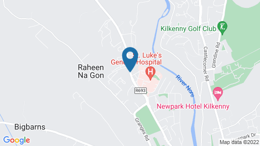Kilkenny House Boutique Hotel Map