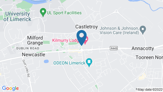 Kilmurry Lodge Hotel Map