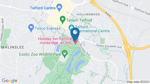 Holiday Inn Telford - Ironbridge Map