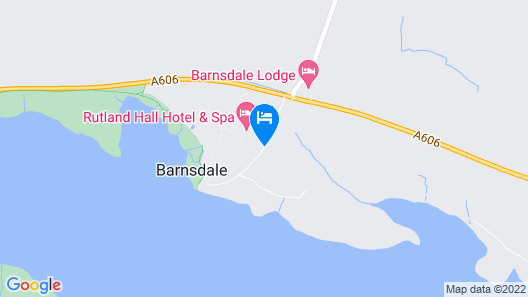 Barnsdale Hall Hotel Map