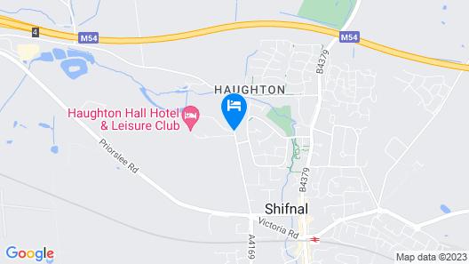 Haughton Hall Map