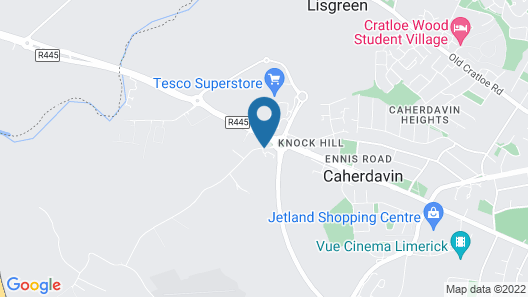 Travelodge Hotel Limerick Ennis Road Map