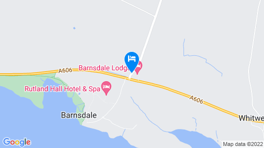 Barnsdale Lodge Hotel and Restaurant Map