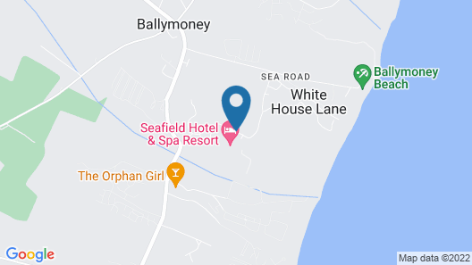 Seafield Hotel Courtyard Suite's Map