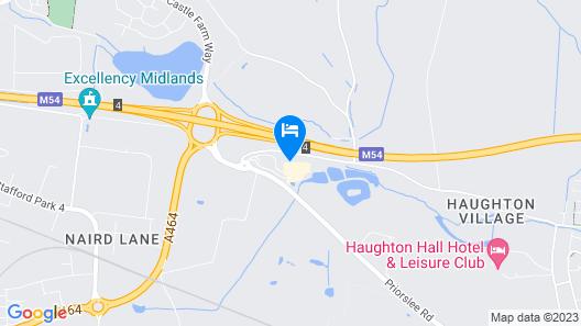Days Inn by Wyndham Telford Ironbridge M54 Map