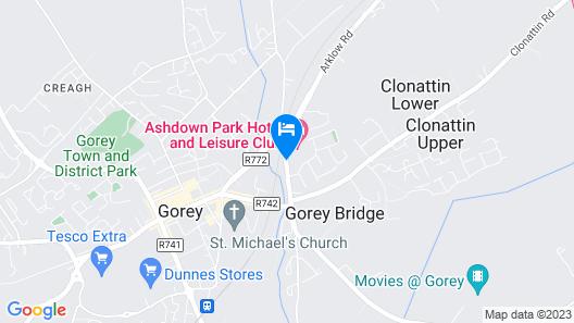 Ashdown Park Hotel Map