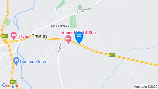 Anner Hotel Map
