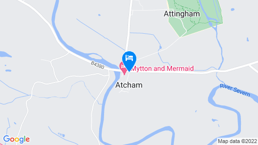 The Mytton & Mermaid Hotel Map