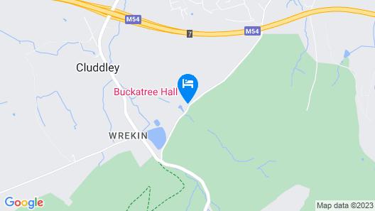 Buckatree Hall Hotel Map