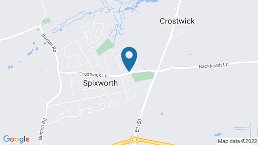 Spixworth Motel Map
