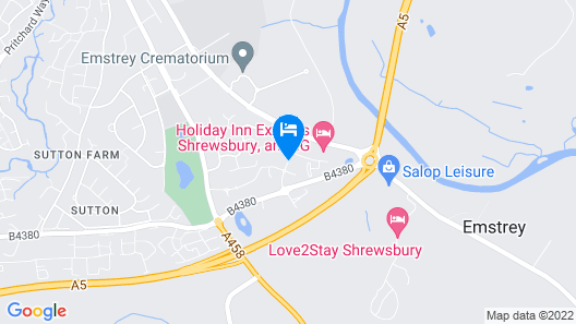 Holiday Inn Express Shrewsbury Map