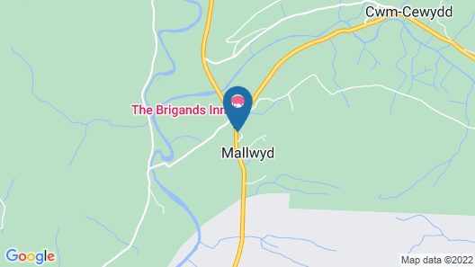 The Brigands Inn Map