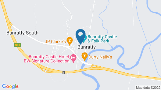 Bunratty West Holiday Homes Map