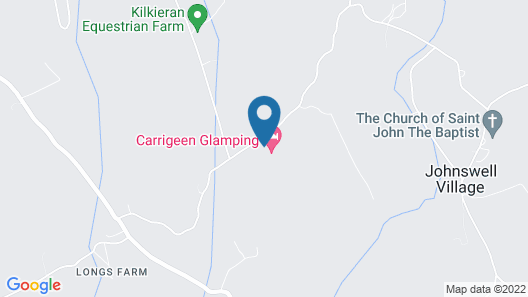 Carrigeen Glamping Map