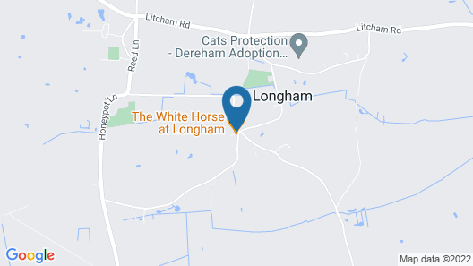 The Longham White Horse Map