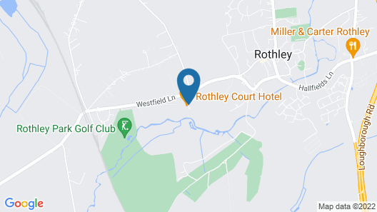 Rothley Court Hotel by Greene King Inns Map