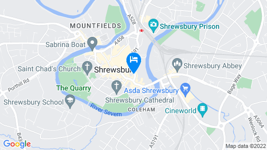 Cromwell's Inn Map