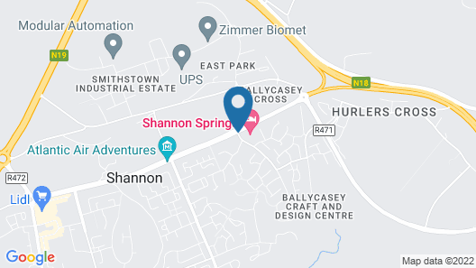 Shannon Springs Hotel Map