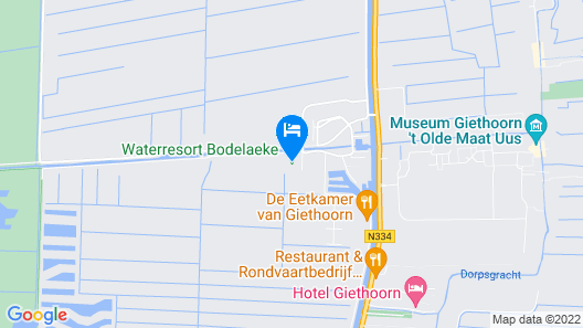 Cozy House With two Bathrooms in Beautiful Giethoorn Map