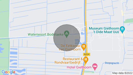 2 Bedroom Accommodation in Giethoorn Map