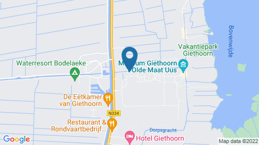 Hotel Brasserie de Pergola Map