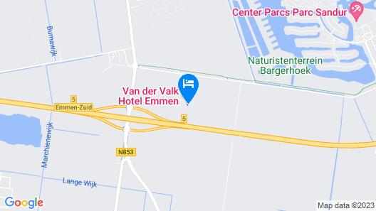 Van Der Valk Hotel Emmen Map