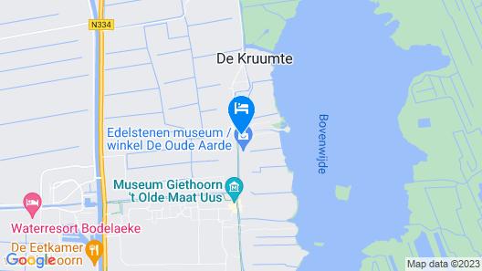 Kroondomein Giethoorn Map