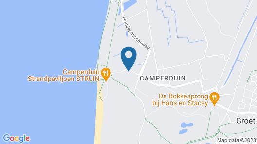 Strandhotel Camperduin Map