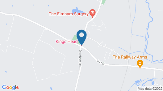 The Kings Head Hotel Map