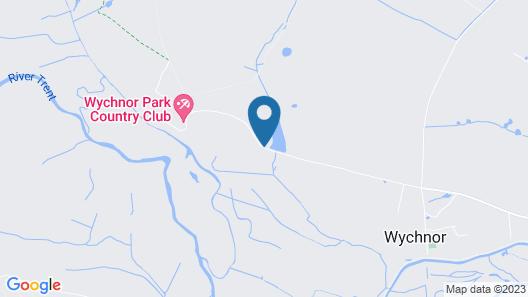 Wychnor Park Country Club by Diamond Resorts Map