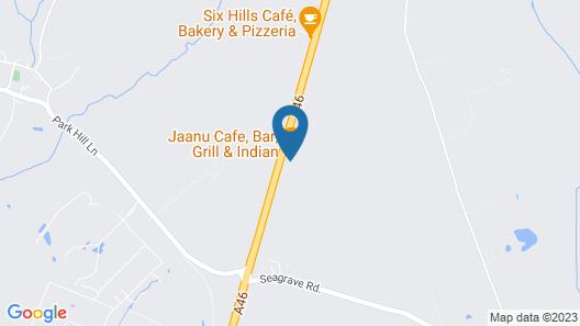 OYO Sunrise Hotel Map