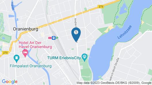 Stadthotel Oranienburg Map