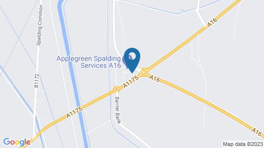 Tulip Queen, Spalding by Marston's Inns Map