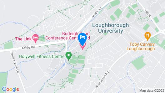 Burleigh Court Hotel Map