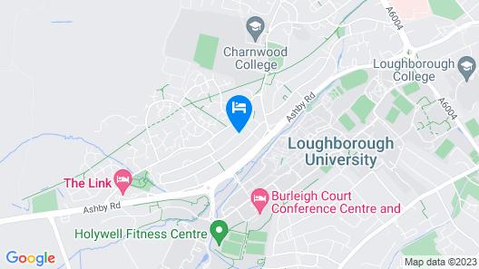 ⭐Mega Hite | Nearby Uni | 3BD | Wifi | Parking⭐ Map