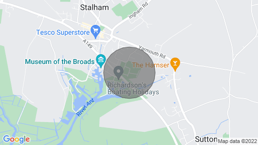 Norfolk Broads, Stalham Chalet, Sleeps 4+2, Dogs, Pool Map
