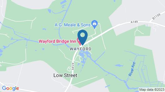 Wayford Bridge Inn Map
