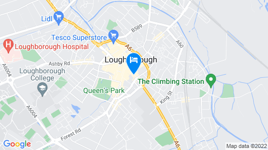 Ramada by Wyndham Loughborough Hotel Map
