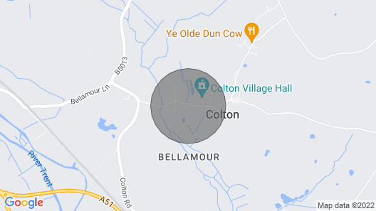Bellamour End Cottage Map