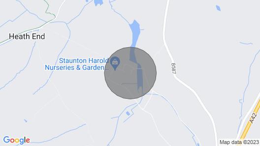 1 bedroom accommodation in Staunton Harold Map