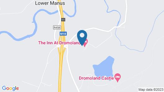 Inn at Dromoland Hotel Map